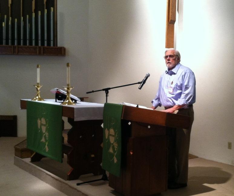 Pr. Chuck Exley welcomes