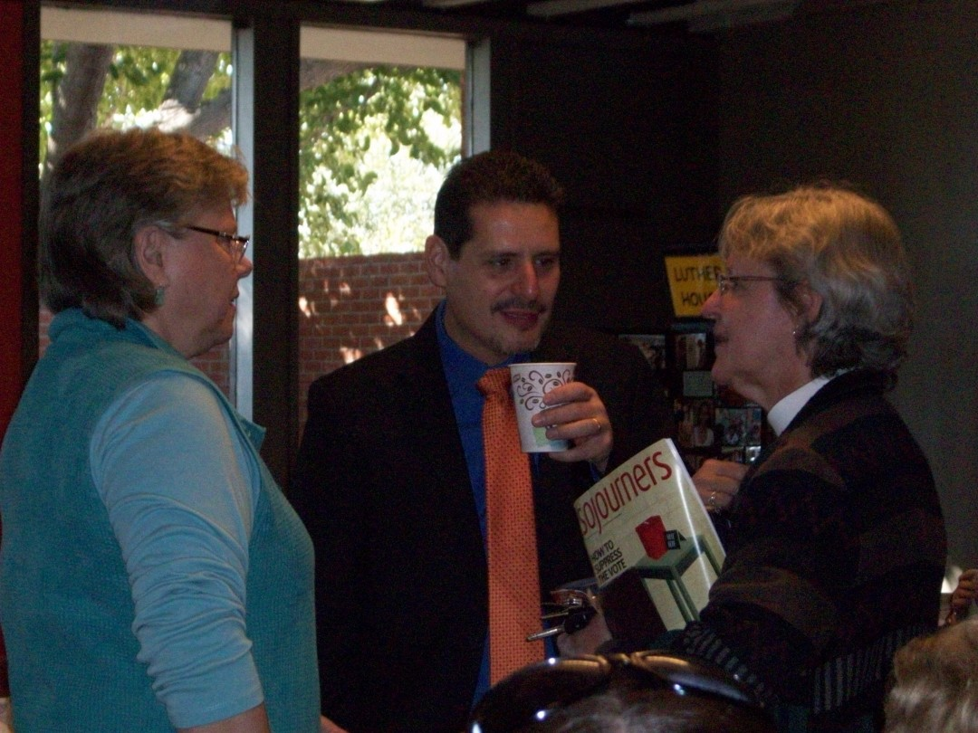 Pastors Vasquez, Morawski & Holman chat